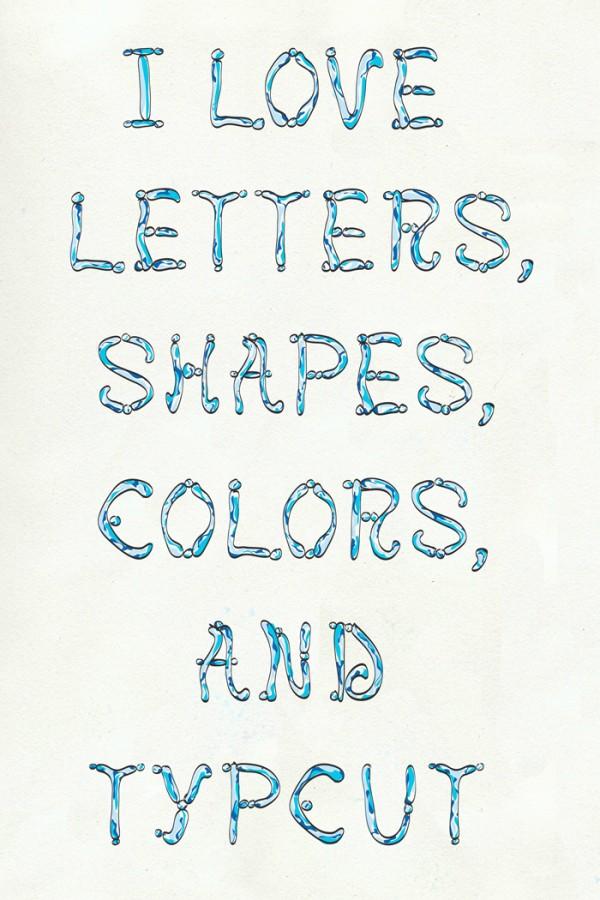 Letters Shapes Colors